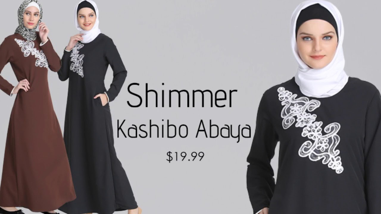 567ead88a90b Islamic Clothing - Modest Fashion - Designer Abaya Eid Dress 2018 -  Shannoh.com