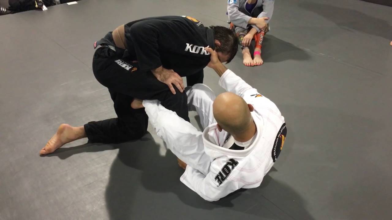 Berimbolo technique at the Ronin BJJ Academy of New Haven CT