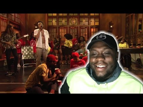 CHILDISH GAMBINO - SATURDAY(LIVE ON SNL)!!!!!! | REACTION