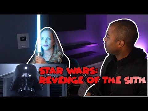 My Wife's First Time Watching Star Wars Revenge Of The Sith Episode 3 (Jane And JVs REACTION 🔥)
