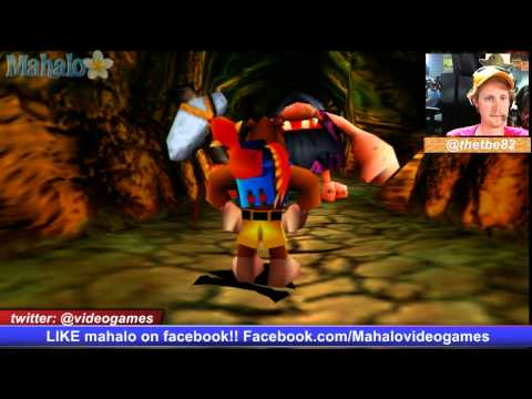 Banjo Tooie Walkthrough 51 Terrydactyland 1 - 동영상