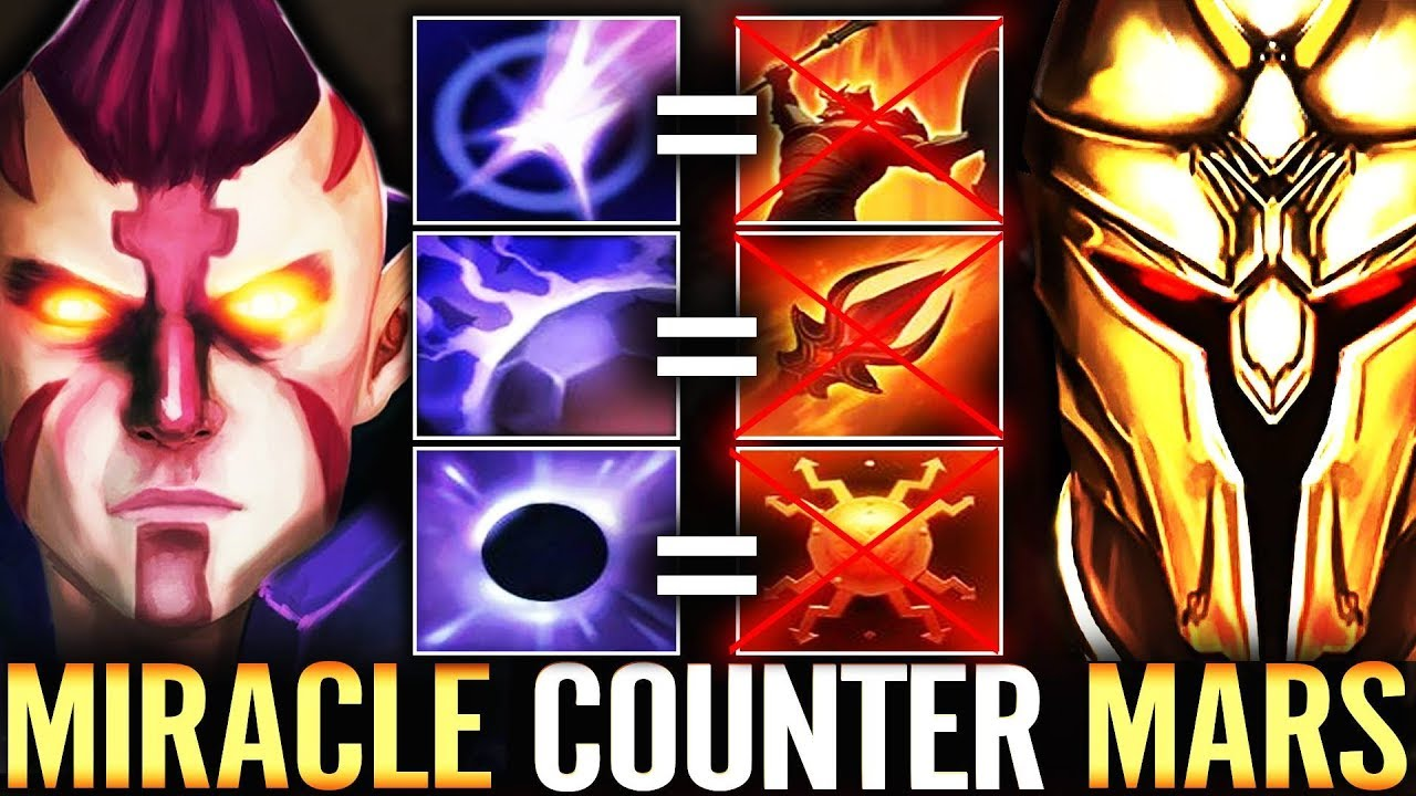 COUNTER MARS IS REVEALED - Miracle Anti-Mage Hard Carry New hero Dota 2