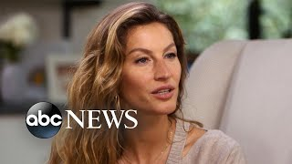 Gisele Bundchen on rising up from 'rock bottom,' adjusting to motherhood