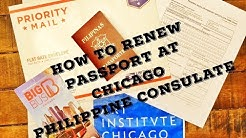 How to Renew Philippine Passport at the Philippine Consulate Chicago