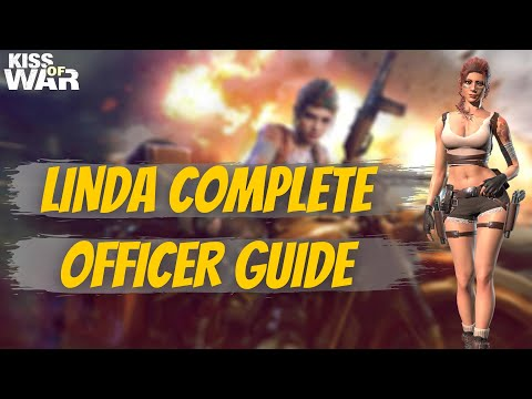 Linda Complete Officer Guide - Kiss of War