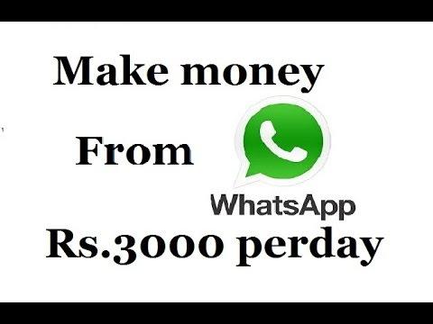 How to make money from whatsapp - YouTube