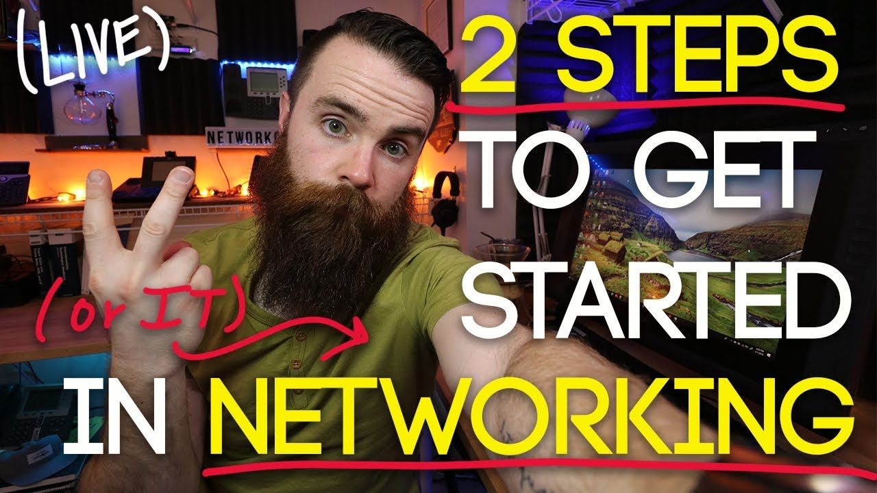 2 Steps to Getting Started in Networking (and IT!) | CCENT | CompTIA A+