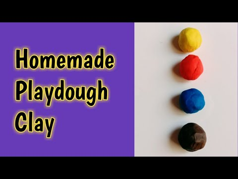 how-to-make-clay-without-maida-and-glue-|-how-to-make-playdough-at-home-easy-no-cook-recipe-|-clay