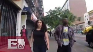 Los piropos que recibe una joven neoyorquina durante una caminata/ Entre Mujeres