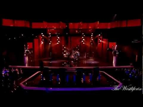 Kian Egan - & the other coaches live on stage ( The Voice Of Ireland 2012 )