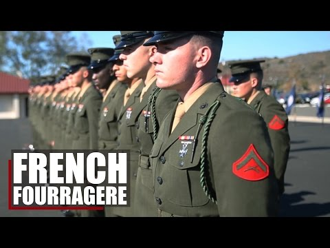 Wearing the Legacy | 5th Marines honor the French Fourragere