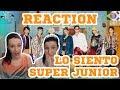 SUPER JUNIOR (슈퍼주니어) - Lo Siento (Feat. Leslie Grace) | MV REACTION