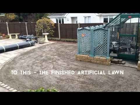 Verdelawn Artificial Grass Installation by Putt It