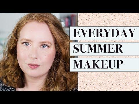 Summer Drugstore Makeup Tutorial for Pale Skin