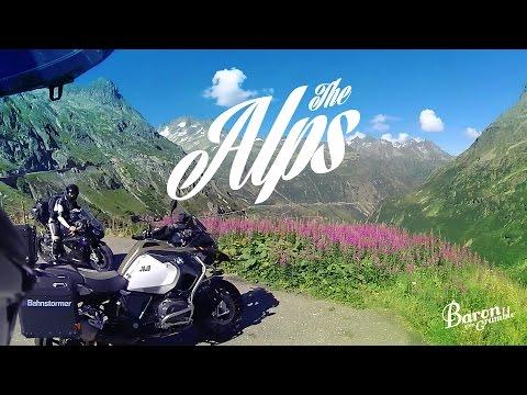 The Alps - Susten Pass on R1200 GS Adventure
