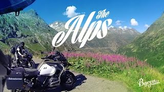 The Alps - Susten Pass on R1200 GS Adventure