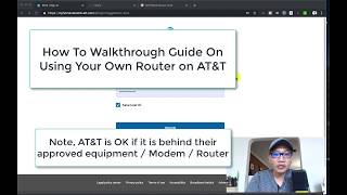 How to Use Your Own Router with AT&T FIOS Fiber Internet | 2019