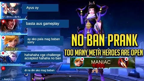 FANNY PRANK!!!! NO BAN PRANK | AUTO MANIAC IN JUST 47 SEC!!?? WOW!!! | WRONG MOVE ENEMIES!! |MLBB