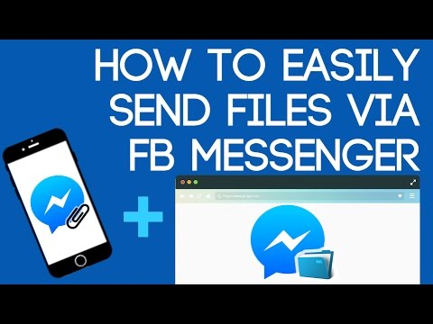 Easily Send Files via FB Messenger - YouTube