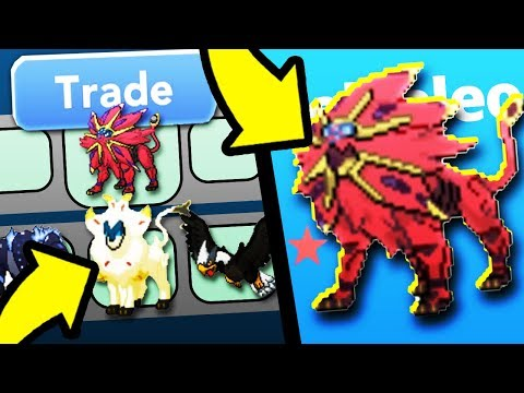 What Happens If I Trade Shiny Solgaleo in Project Pokemon?