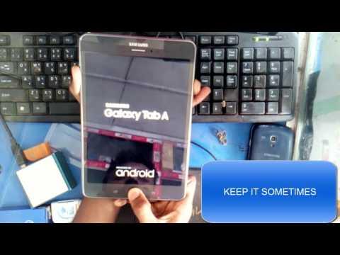 Samsung Galaxy Tab A 8 0 (2017) Restore Videos - Waoweo