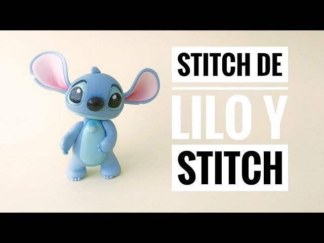 Como Hacer a Stitch de Lilo y Stitch   Porcelana Fría   Pasta Flexible