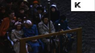 Early 1950s Boston Commons Park, Color Home Movies