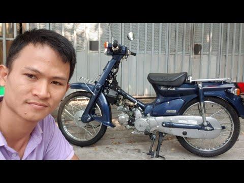 Siêu Cub Tồn Kho . Honda Custom 50cc Odo Chỉ 124km . Xe Dữ Cho Ae Sưu Tập