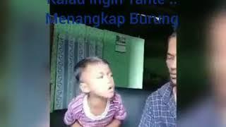 BURUNG TANTE Gokil Abis ANAK Kecil Suara Merdu (LAGUNYA KONYOL )