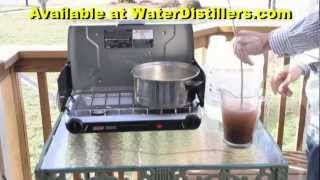 Survival Still - Emergency Water Distiller For Emergency Drinking Water SurvivalStill