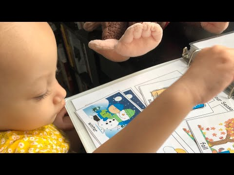 Toddler Learning Folder + Toddler Books| Catholic Mom