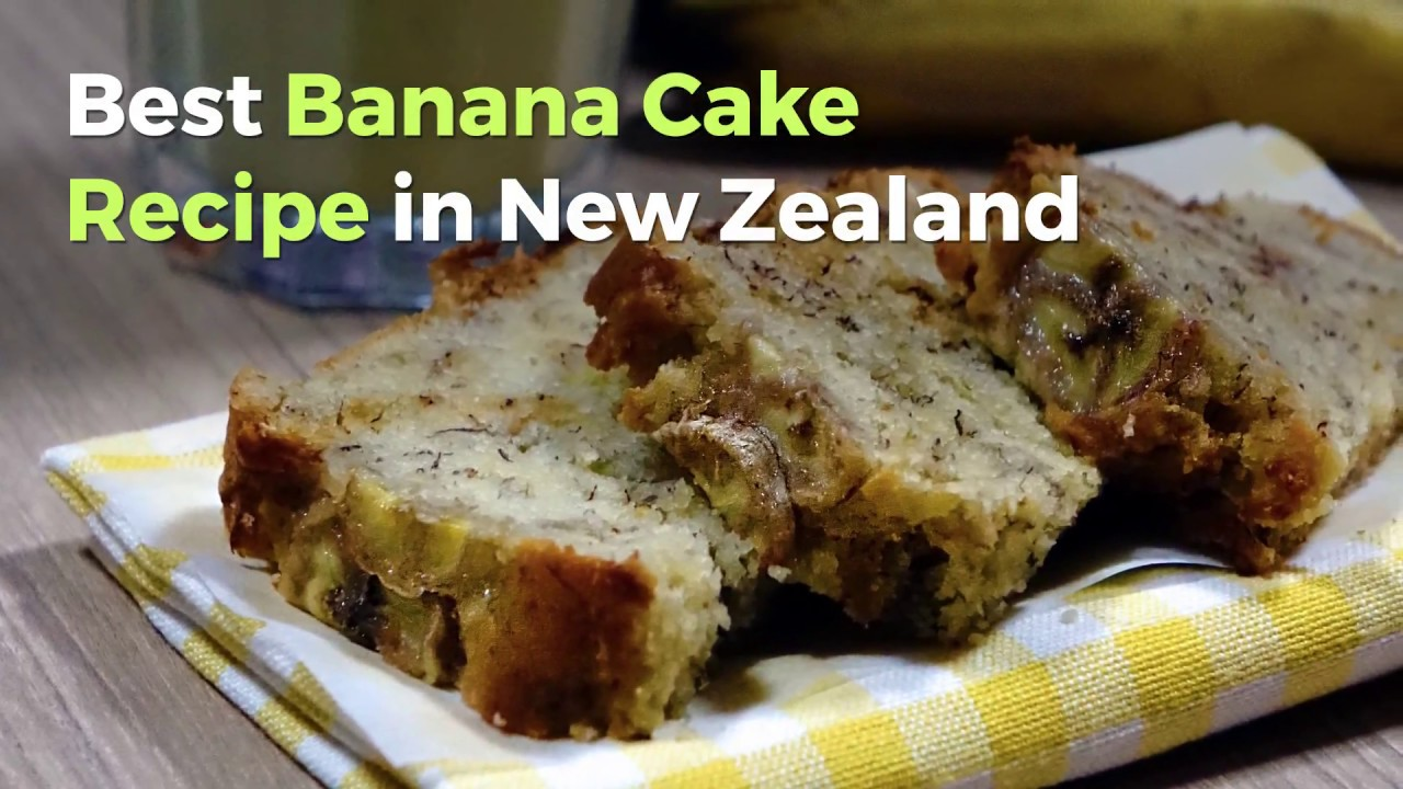 Best banana cake recipe in new zealand easy to make youtube best banana cake recipe in new zealand easy to make forumfinder Choice Image