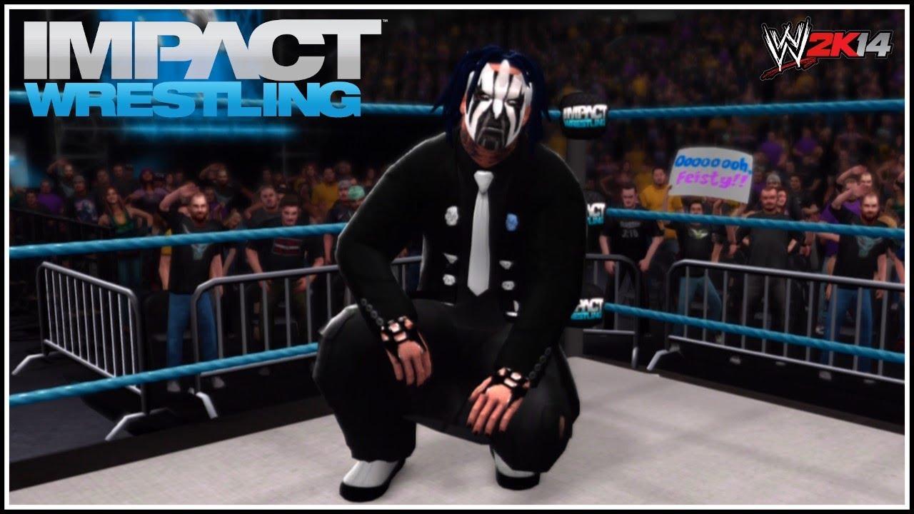 Willow The Wisp! Jeff Hardy 2014 New TNA Gimmick! (WWE ...