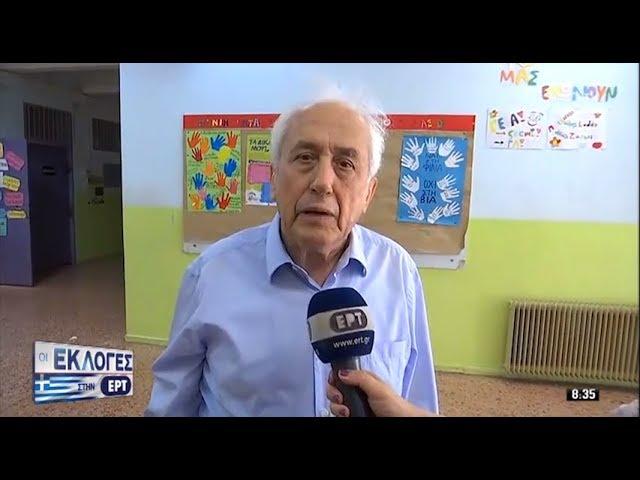 Δήλωση ΥΠΕΣ, Αντώνη Ρουπακιώτη, κατά την άσκηση του εκλογικού δικαιώματος | 7.7.2019