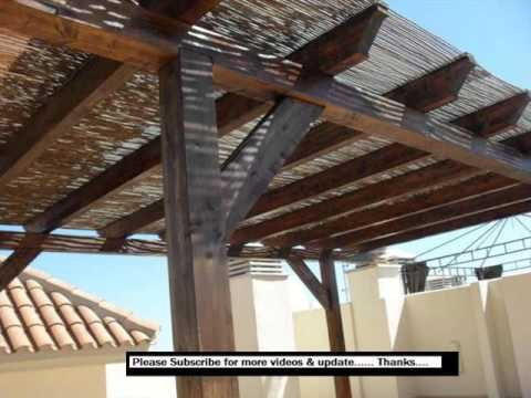 Pergola With Roof Design Ideas Pictures Youtube