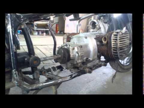 (Урал,Днепр) К-750 Переделка под круйзер, ни одной запчасти от импортного мотоцикла!!!