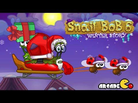 Snail Bob 6: Winter Story Walkthrough All Levels 1 - 25