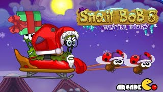 Snail Bob 6: Winter Story Walkthrough All Levels 1 - 25