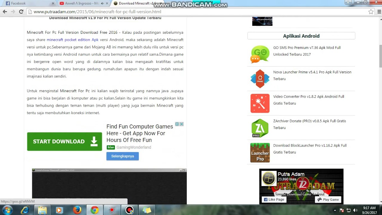 Download Minecratf By Muhammad Farhan Youtube