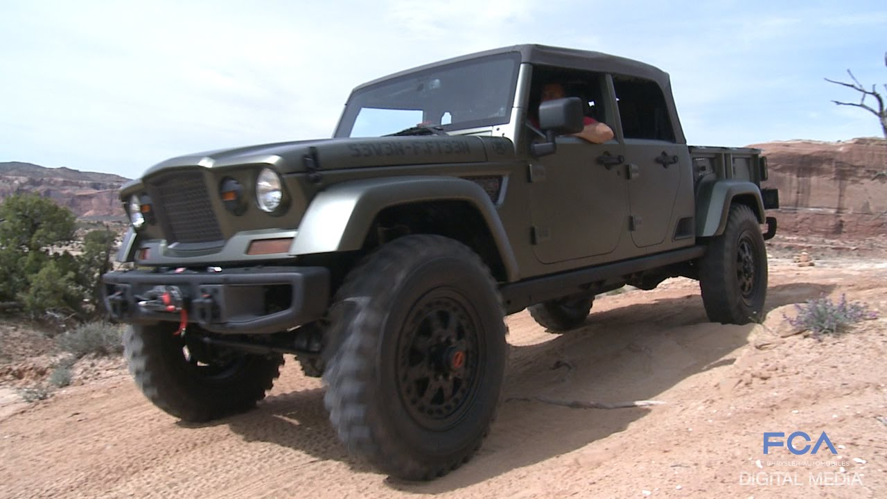 Jeep Concept 2016 >> Moab Easter Jeep Safari 2016 Jeep Concepts On The Trail Youtube
