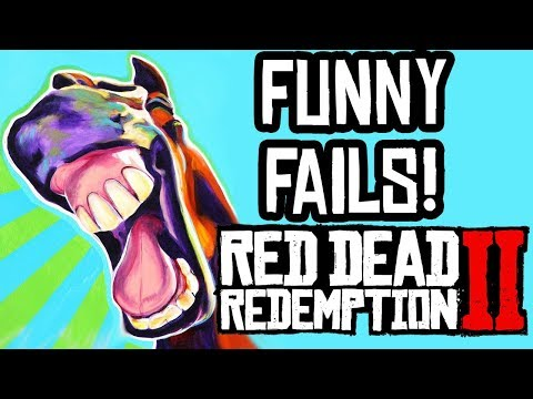 Red Dead Redemption 2: FUNNY MOMENTS & FAILS FUNTAGE! (#2)