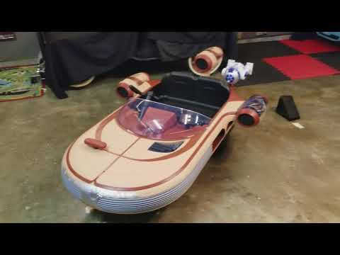Star Wars Luke's Landspeeder By Radio Flyer Toys R Us Exclusive Review