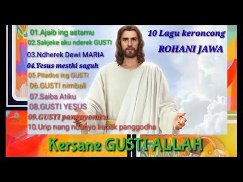 10 Lagu Keroncong Rohani Jawa