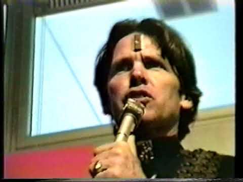 New Edge Conference, Saint Silicon, May '93 Amsterdam, drum ritual