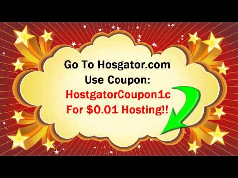 How To Sign Up For Web Hosting Account- Free Website Templates Flash Html + Hostgator Coupons 2015