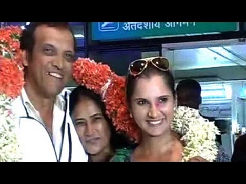 Sania Mirza returns home to hero's welcome after Wimbledon triumph