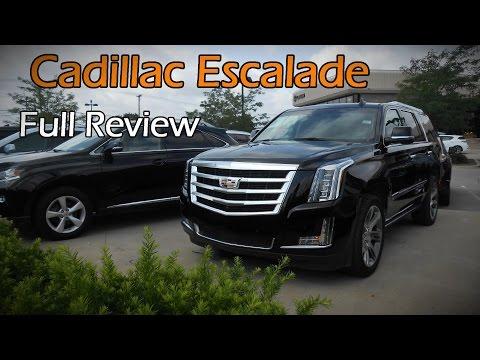 2015 / 2016 Cadillac Escalade & ESV Premium: Full Review