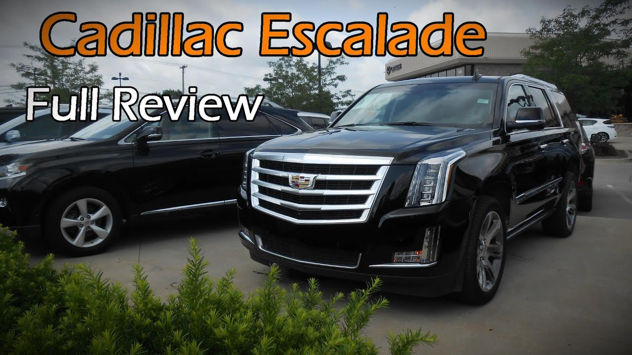 2015 2016 Cadillac Escalade Amp Esv Premium Full Review
