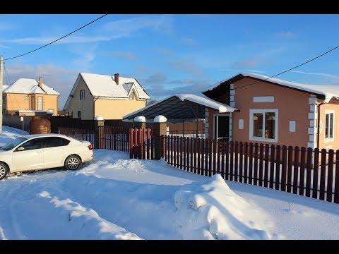 Дома из газосиликатных блоков от компании Ваша Дача. Симферопольское шоссе, Заокский район