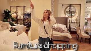 Furniture shopping! vlog